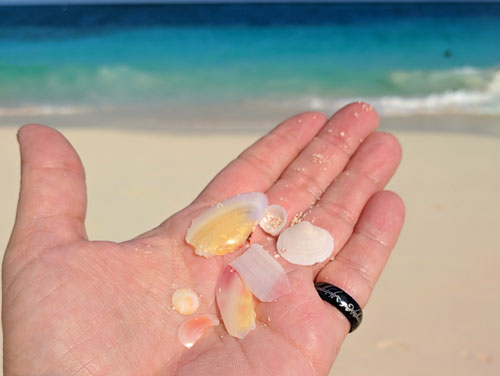 Is There Sea Glass in the Bahamas?